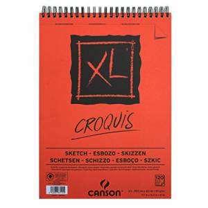 ALBUM CANSON XL CROQUIS 120 FOGLI 90gr A3