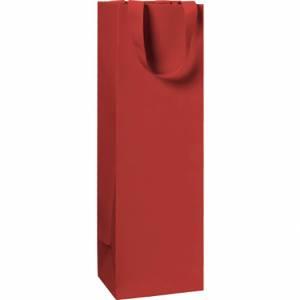 Sacchetto Bottiglia 11x36x10,5cm Stewo Rosso