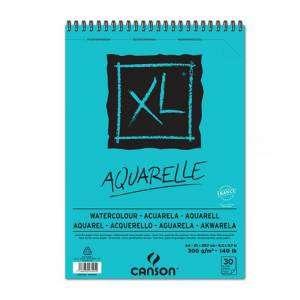 ALBUM CANSON XL AQUARELLE 30 FOGLI 300gr A4