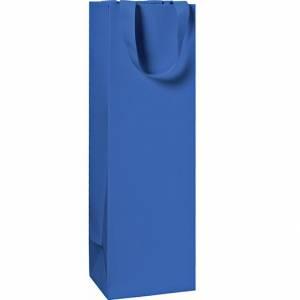 Sacchetto Bottiglia 11x36x10,5cm Stewo Blu